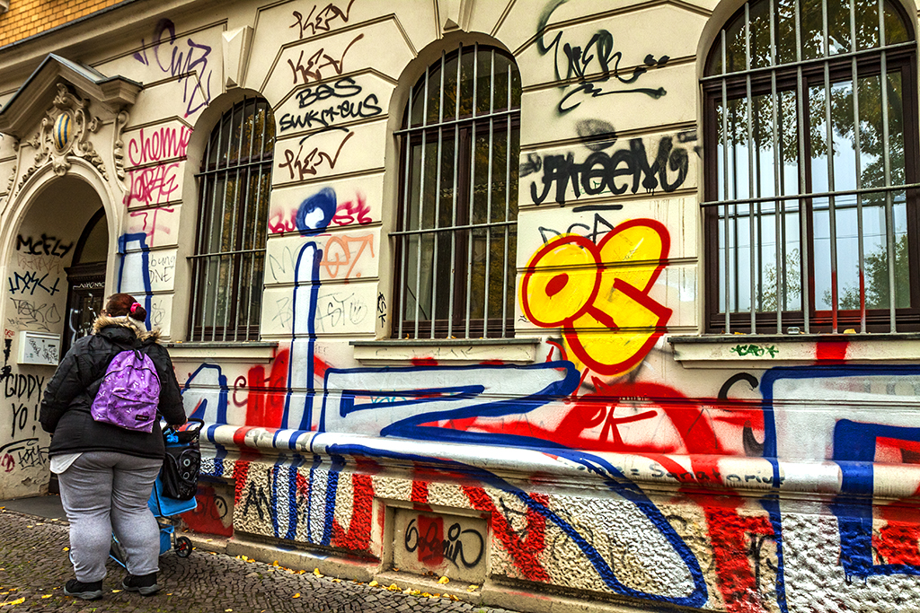 Graffiti in Connewitz--Leipzig 2