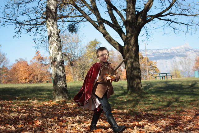 Costume de prince pour petit garçon, 6 ans