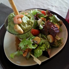 Avocat et crevettes - Photo of Zilling