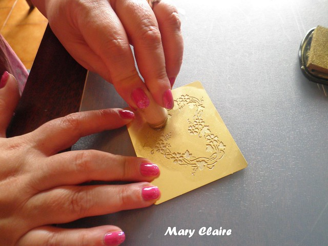 embossing sul retro