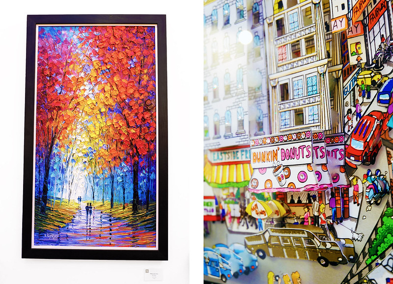 ManilART 2015 Left: 'Walk in the Park' by S. Ilyayev (showcased by Bruno Art Group)