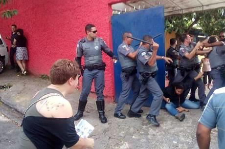 Violência da PM #OcupaEscola