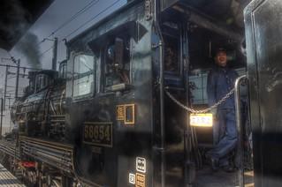 'SL HITOYOSHI' at Kumamoto Station on OCT 23, 2015 (20)
