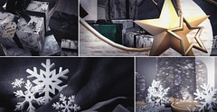 Home Decor: Merry Winter (close up)