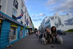streets of akureyri