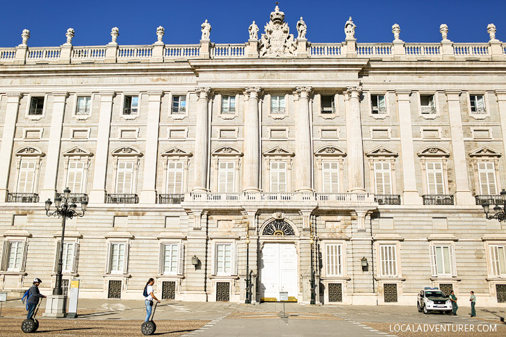Royal Palace of Madrid (Palacio Real) - 21 Remarkable Things to Do in Madrid Spain