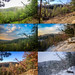 Overlook in Houghton Forest, multi-seasonal composite by DaveHuth