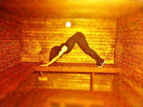 Ana's Sauna Yoga (November 26 2014)