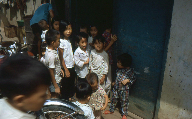 Pre-1975 SAIGON - Vietnamese children