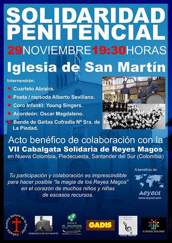 Solidaridad Penitencial  29 de Noviembre de 2105.