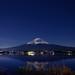 Mt. Fuji under the moon light 月光下的富士山in Japan yamanashi prefecture .Lake Kawaguchi 日本山梨縣河口湖   DSC_5464 by Ming - chun ( very busy )