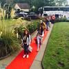 Red carpet arrivals
