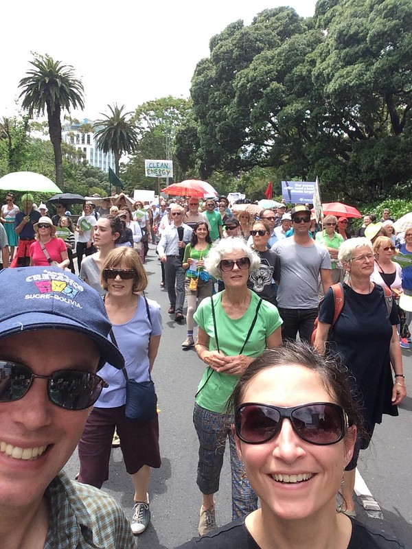 People's Climate March - Auckland, NZ