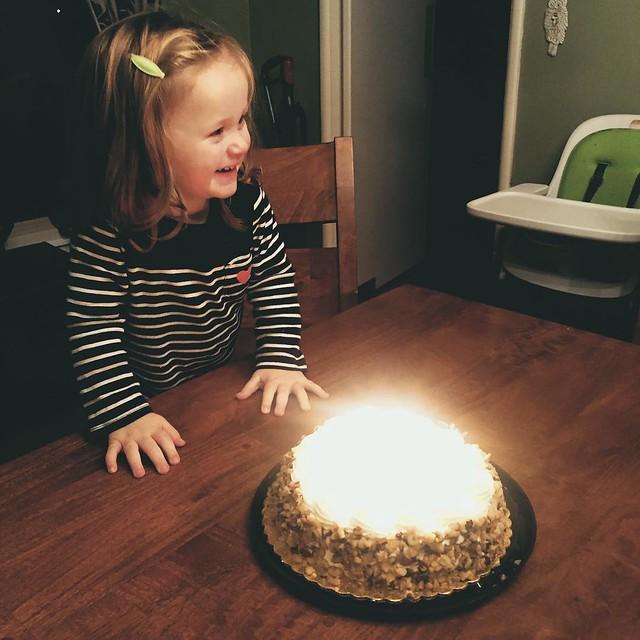 December 21: Sing/Play Christmas Music & Celebrate Maggie's Birthday #mongrainadvent2015 #she's2!