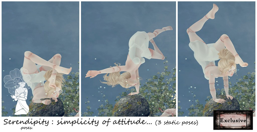 Serendipity: simplicity of attitude... @ The Darkness Chamber - SecondLifeHub.com