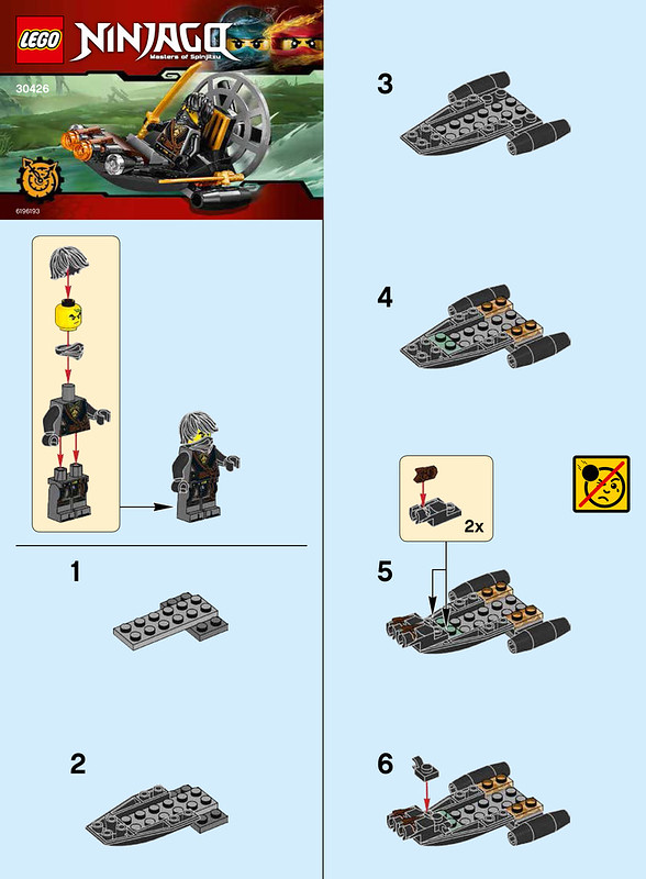30426 Stealthy Swamp Airboat Instruction 1