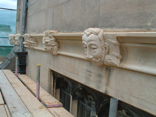 Grotesques, Bodleian Library, Oxford.
