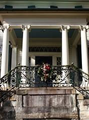 Belmont, Ionic Porch.
