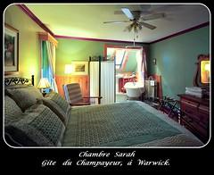 Chambre Sarah, Gite du Champayeur, cadre.