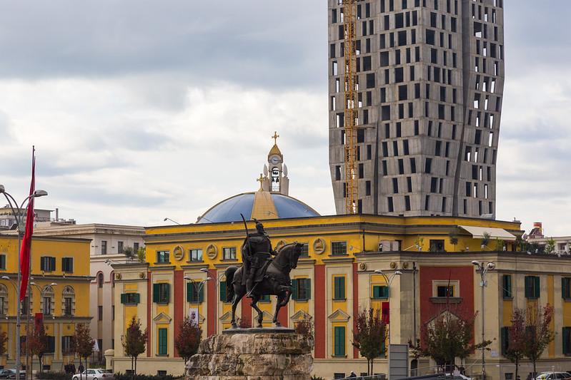 Skanderbeg Square - Tirana
