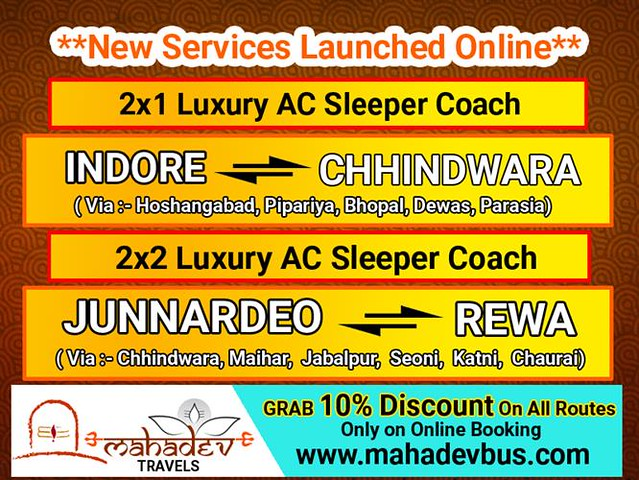 Mahadev Travels-Responsive PopUp  Banner