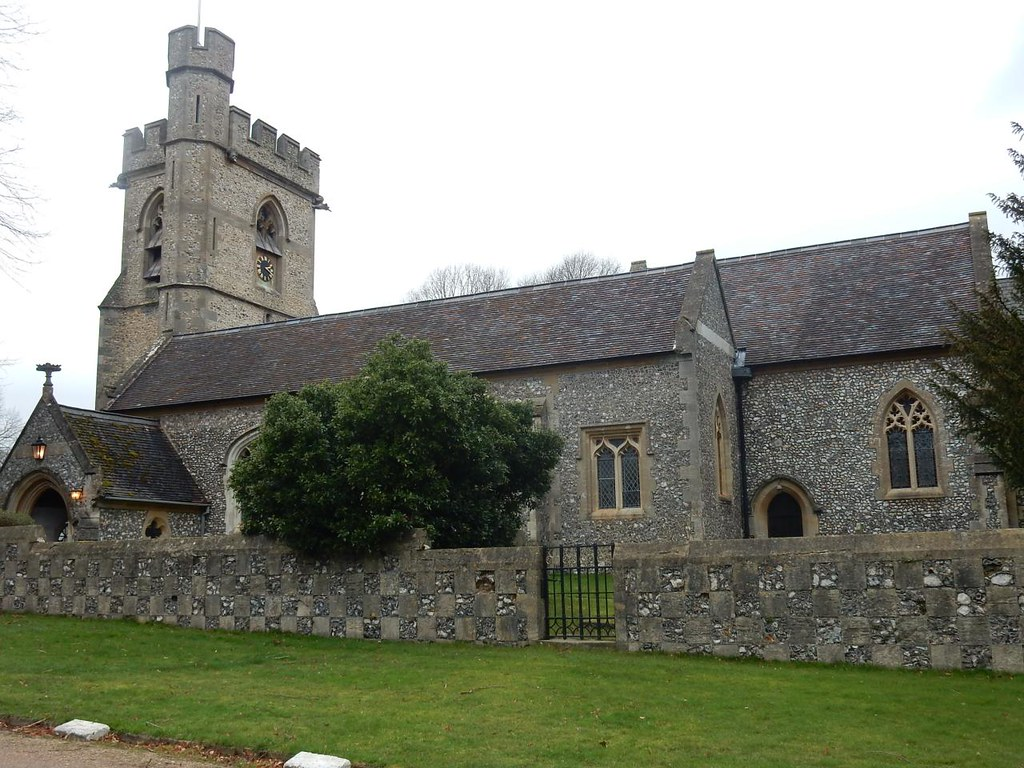 Chenies church Chorleywood to Chesham