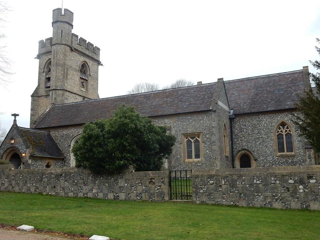 Chenies church Chorleywood to Chesham