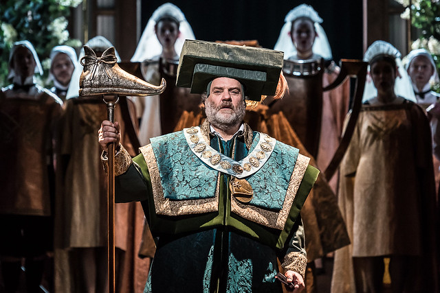 Bryn Terfel in Die Meistersinger von Nürnberg, The Royal Opera © 2017 ROH. Photograph by Clive Barda