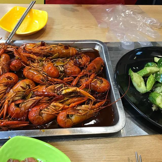 #麻辣小龙虾 #마라샤오룽샤