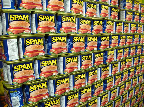 Spam wall marketing automationo