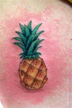Tattoo By Jon Poulson  Mini Pineapple Flickr
