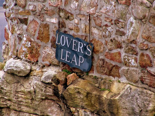 Lover's Leap Sign