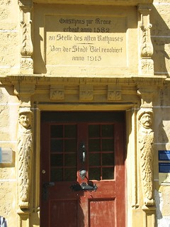 Ancient Door, Biel / Bienne, Switzerland