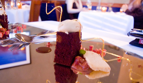 Dessert: Devil's Food Cake