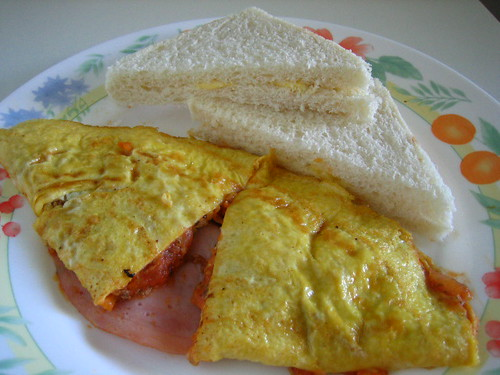 Breakfast Combo - Omelette And Sandwiches