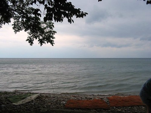 camp lake ontario shore