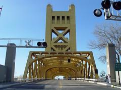 Old bridge in Sacramento, CA