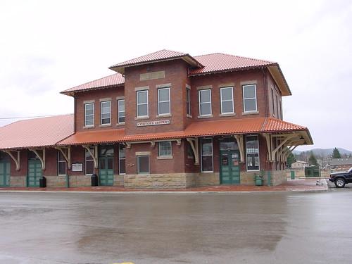 railroad station geotagged westvirginia geolat3892500 geolon7985056
