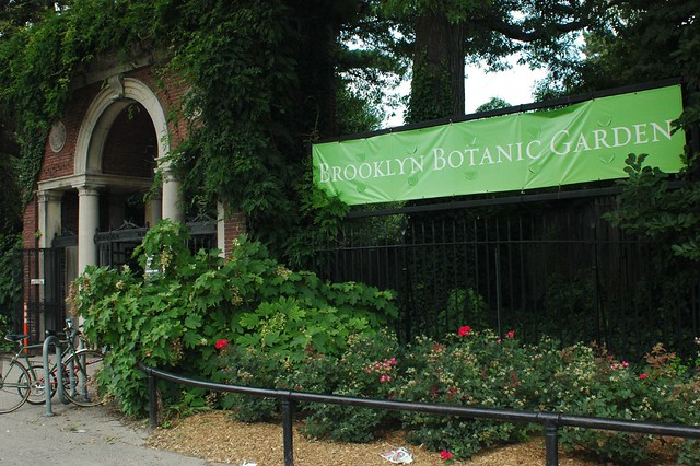 Brooklyn Botanic Garden Entrance Flickr Photo Sharing