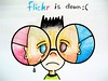 flickr is down by Stitch