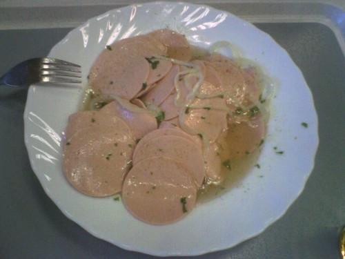 Wurstsalat in der degussa-Kantine in Schalchen (Variation 2)