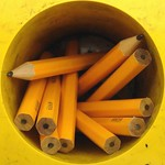 Cup o' pencils