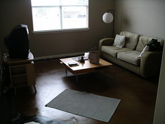 Living Room with Some Furniture