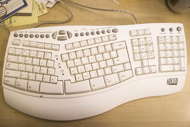 Ms Natural Ergo Keyboard  For Business Usb Black Oem