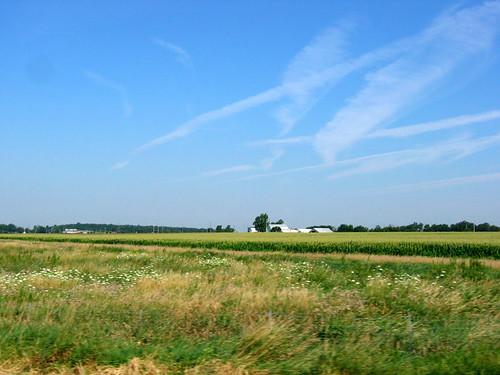 Rural central Ohio