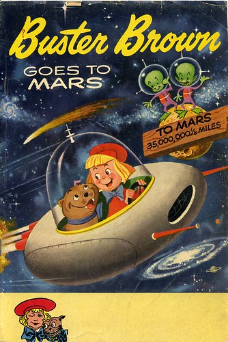 Buster Brown Goes to Mars comic