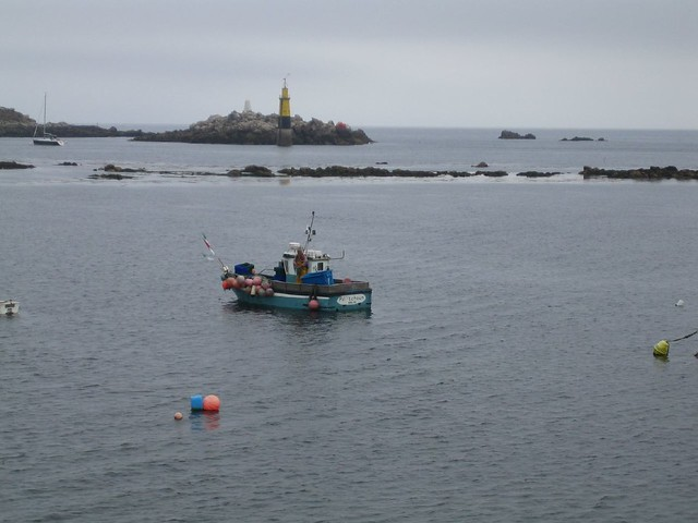 Roscoff -Le bateau de pêche