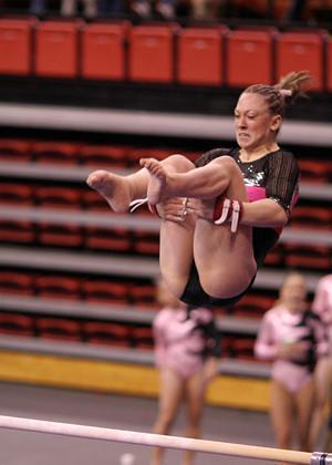 Flickr College Gymnastics Wedgie