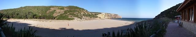 Praia do Zavial - panorama
