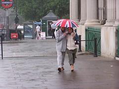 Bad weather London